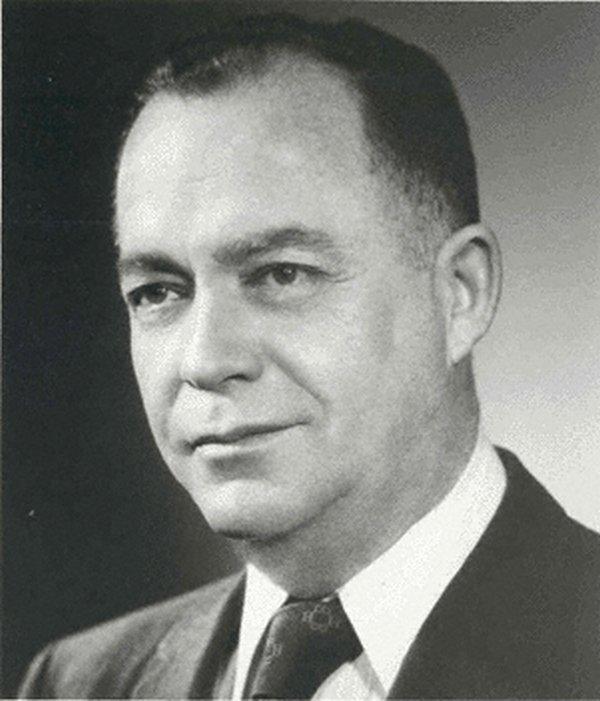 Portrait of George E. Burch