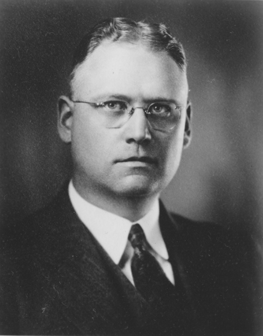 Portrait of Harris M. Chadwell.