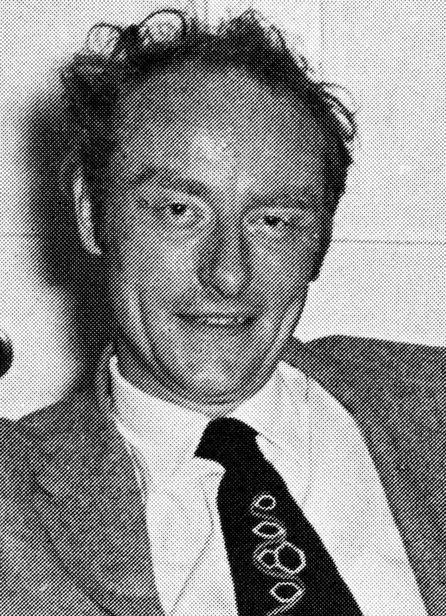 Portrait of Francis Crick.