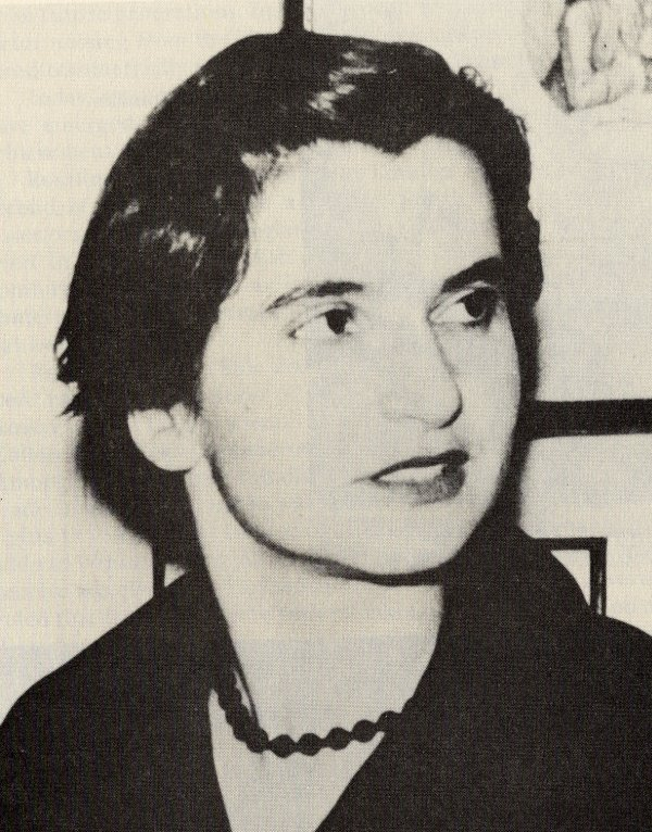 Rosalind Franklin.