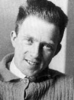 Portrait of Werner Heisenberg