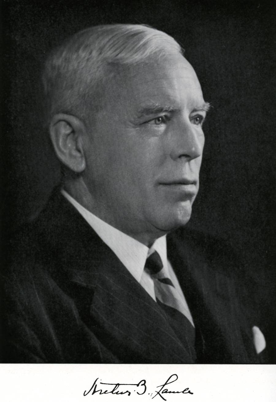 Portrait of Arthur B. Lamb