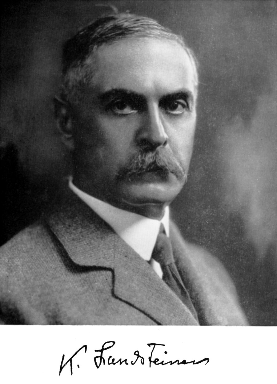 Portrait of Karl Landsteiner