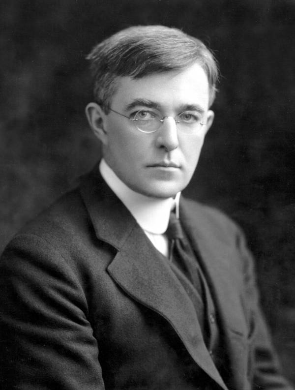 Portrait of Irving Langmuir