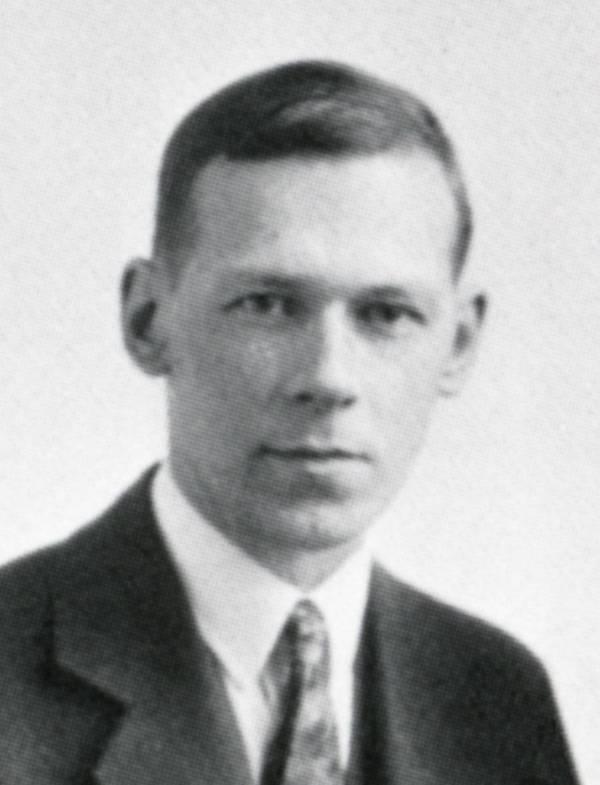 Portrait of Robert Mulliken