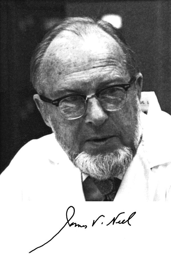 Portrait of James V. Neel
