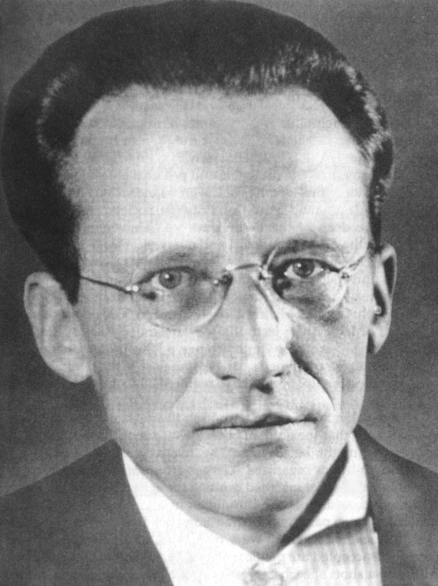 Portrait of Erwin Schrödinger