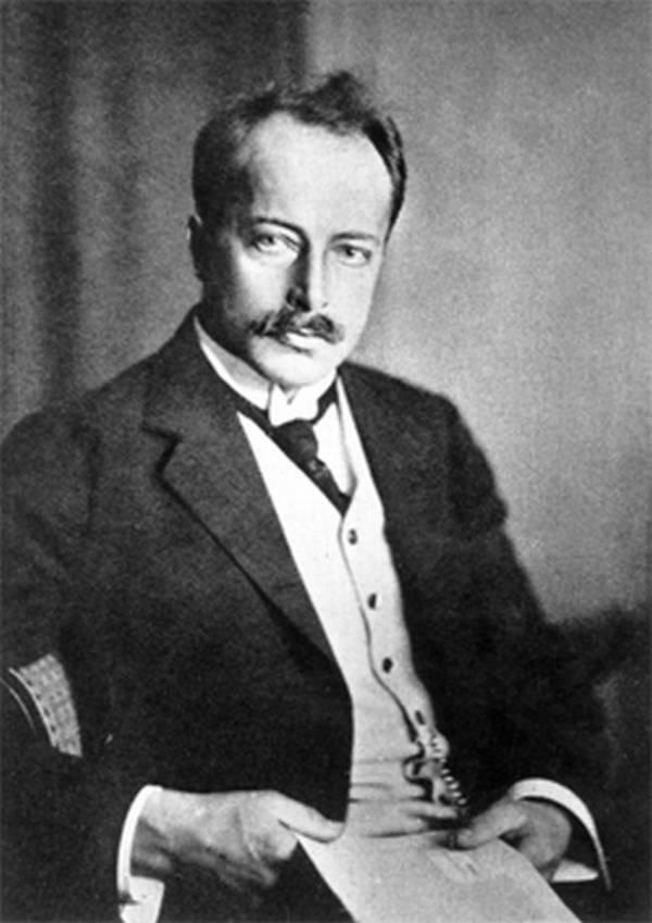 Portrait of Max Theodore Felix von Laue