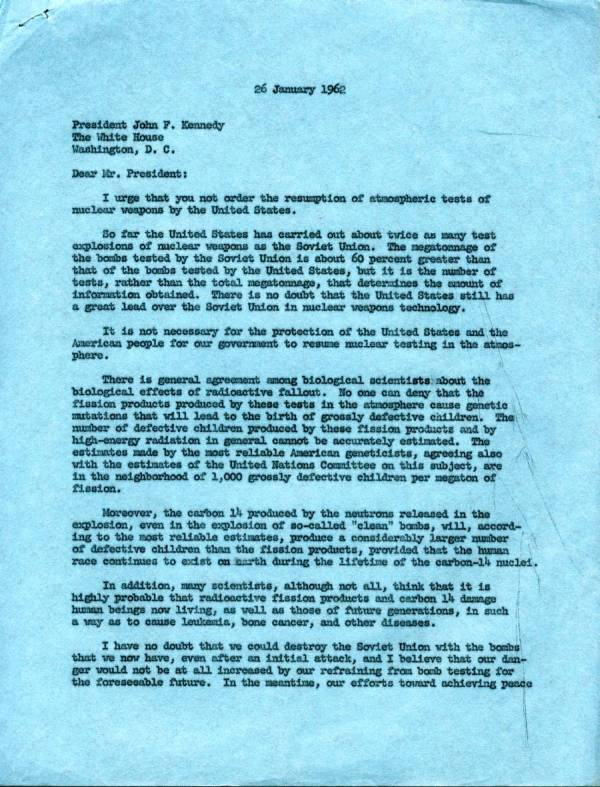 john f. kennedy research papers • public papers of the presidents statement by senator john f kennedy in a letter to w john kenney john f kennedy: october 10.