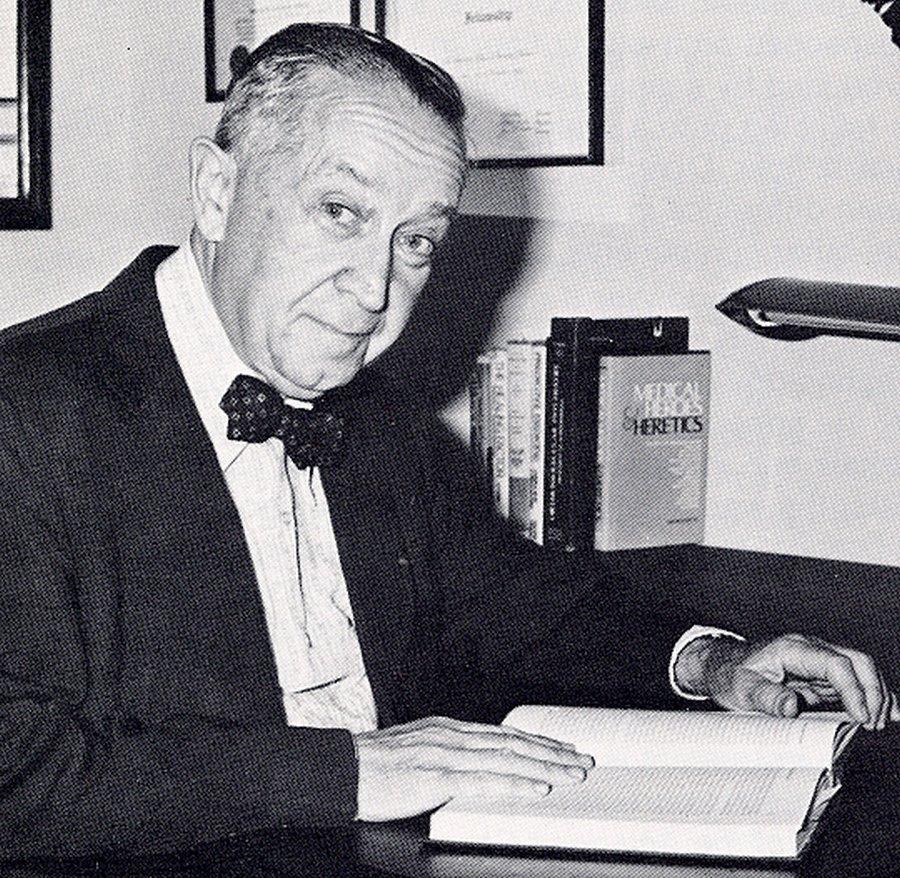 Portrait of Irwin Stone