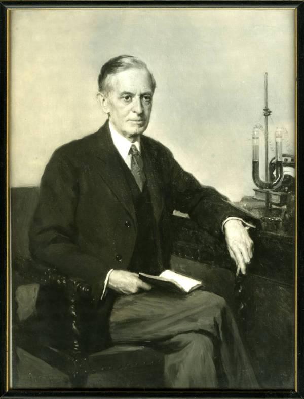 Portrait of Arthur Amos Noyes.