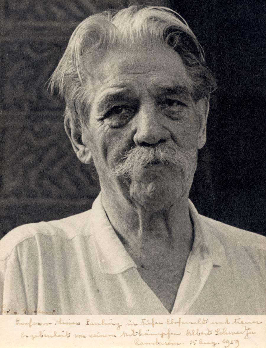 Dr. Albert Schweitzer.