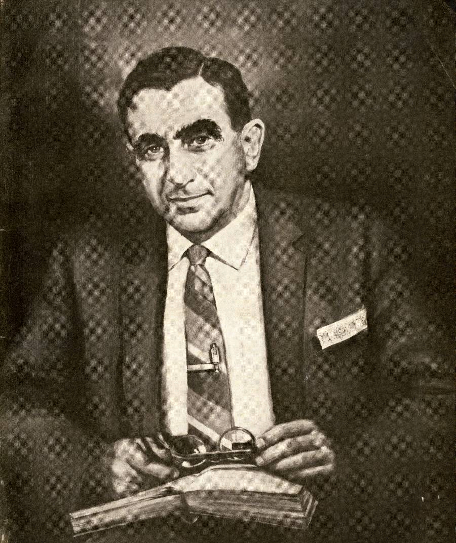 Portrait of Edward Teller by Dmitri Vail.