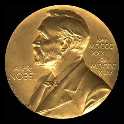 Nobel Prize for Chemistry. Medal - Obverse. December 10, 1954