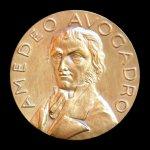 Amedeo Avogadro Medal, 1956. Medal - Obverse.