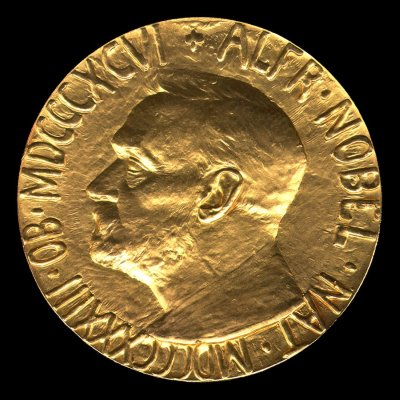 Nobel Prize for Peace. Medal - Obverse. December 10, 1963