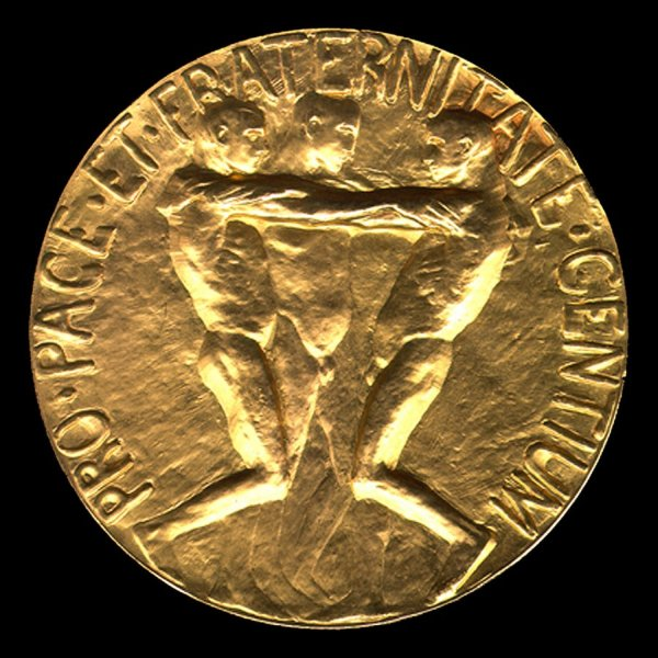 Nobel Prize for Peace. Medal - Reverse. December 10, 1963