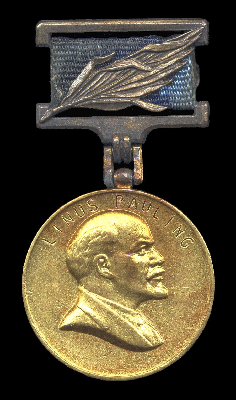 Lenin Peace Prize Medal.