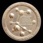 National Academy of Science Medal in Chemical Sciences, 1979. Medal - Obverse.