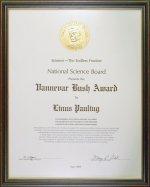 Vannevar Bush Award.