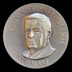 Vannevar Bush Award, 1989. Medal - Obverse.