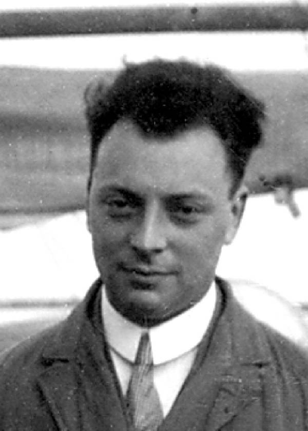 Portrait of Wolfgang Pauli.