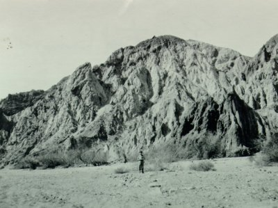 Linus Pauling Jr., Painted Canyon, California.Picture. 1931