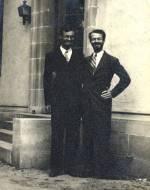 Charles Coryell and Linus Pauling.