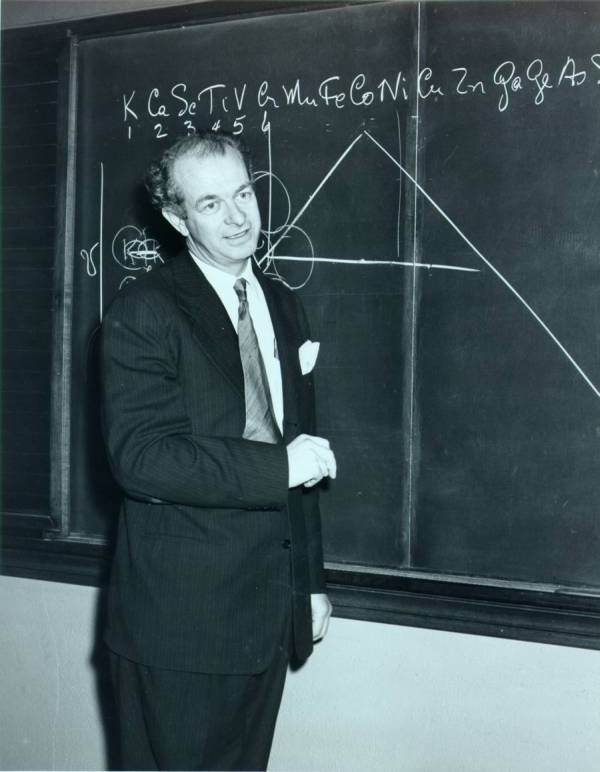 Linus Pauling. Picture. 1940s