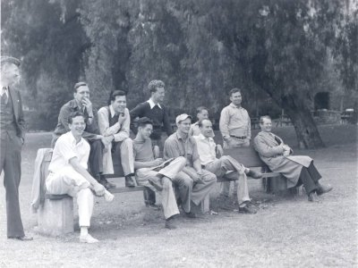 Members of the Caltech Chemistry Department. Picture. 1941