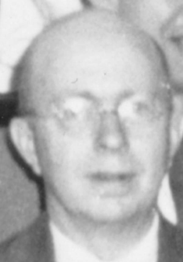 Portrait of Karl Darrow.