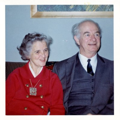Linus Pauling and Ava Helen Pauling. Picture. November 18, 1966