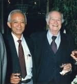 Harvey Itano and Linus Pauling.
