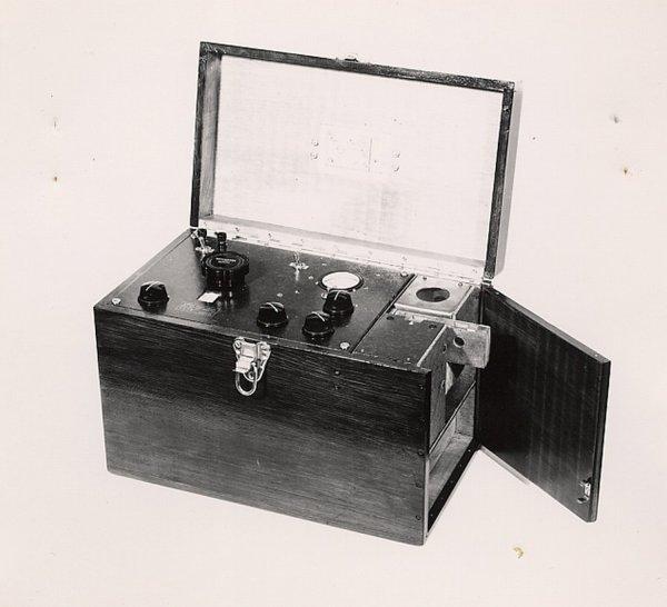 Spectrophotometer.