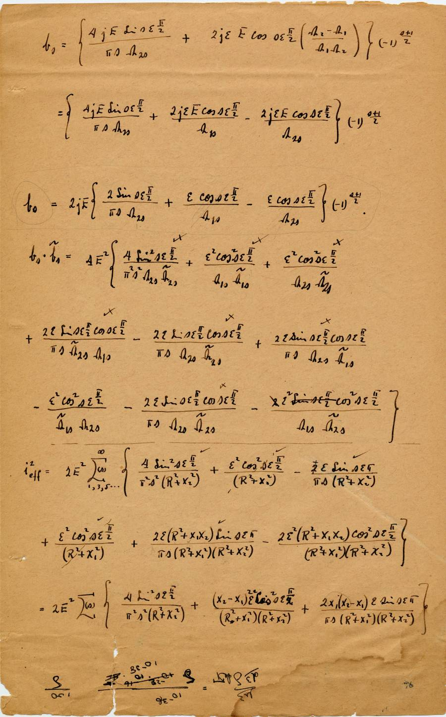 Page 1a (back)