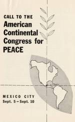 """Call to the American Continental Congress for Peace."""