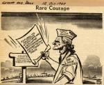 """""""Rare Courage."""""""