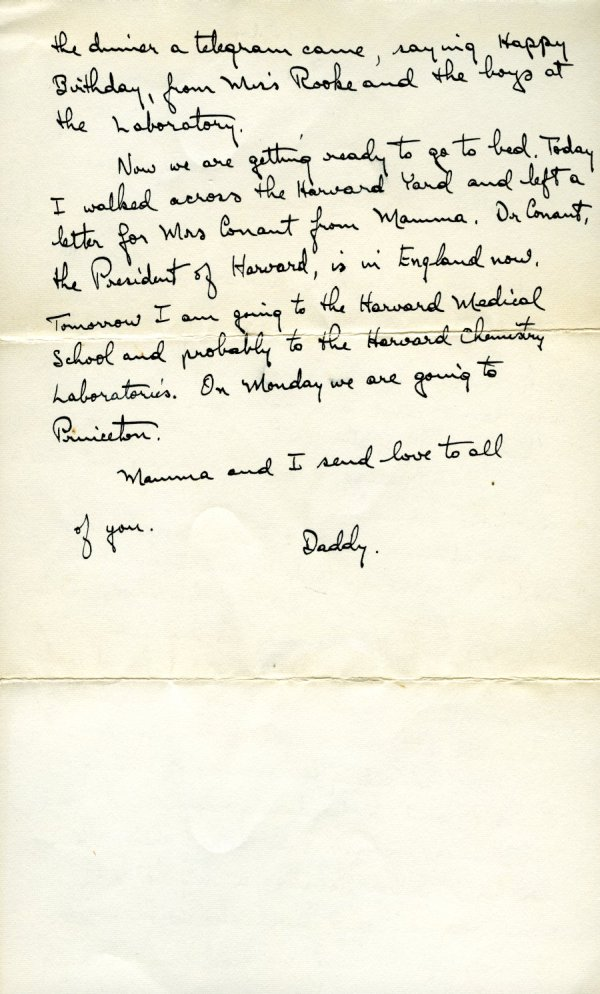 Letter from Linus Pauling to Linus, Jr., Peter, Linda and Crellin Pauling. Page 2. February 28, 1941