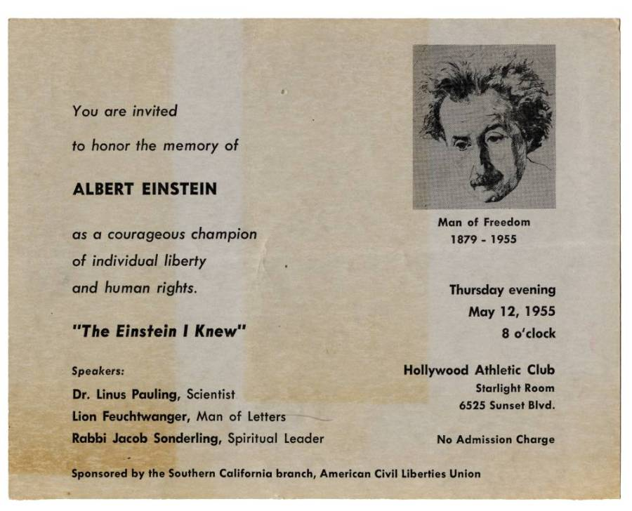 """The Einstein I Knew."""