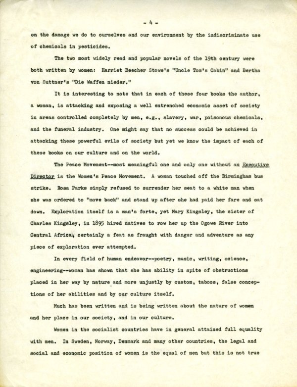 """""""The Second X-Chromosome: A Study of Woman.""""Page 4. December 1, 1964"""