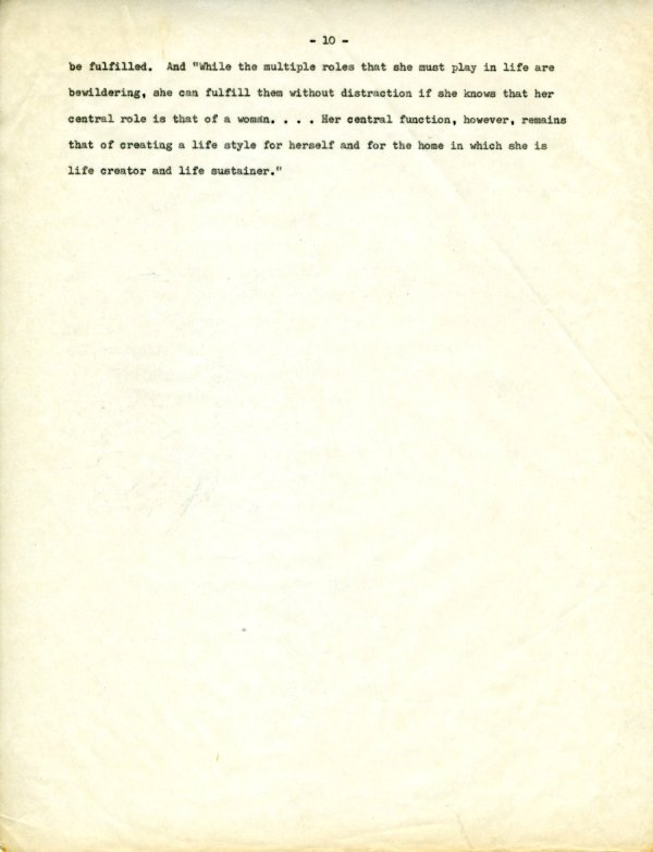 """""""The Second X-Chromosome: A Study of Woman.""""Page 10. December 1, 1964"""