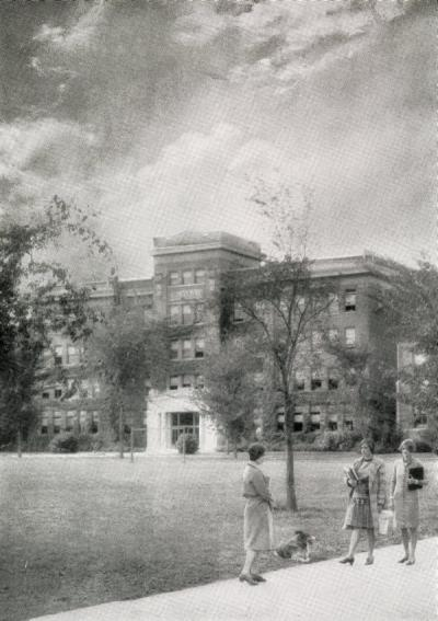 Agricultural Hall, ca. 1928.