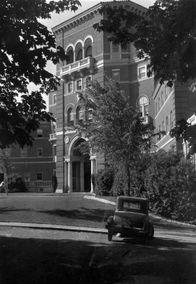 Weatherford Hall, 1935.