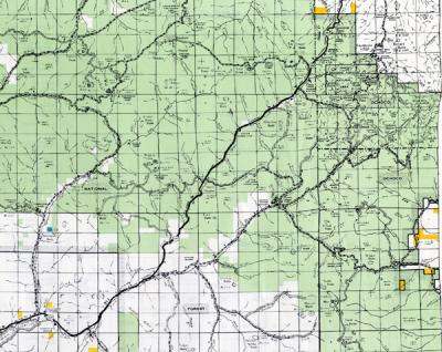 Bureau of Land Management Maps of Oregon, 1944-1993 on