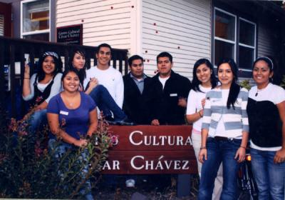 Staff of the Centro Cultural César Chávez, ca. 2009.