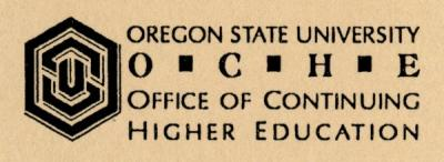 Logo of the OSU Office of Continuing Higher Education.