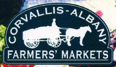 Logo of the Corvallis-Albany Farmer's Markets, ca. 2000s.