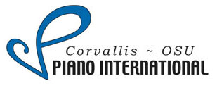 Logo of Corvallis-OSU Piano International.