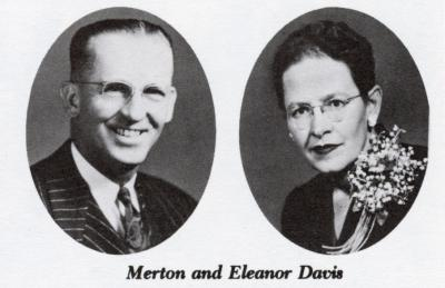 Merton and Eleanor Davis.