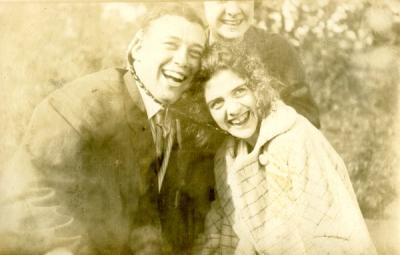 "Image labeled ""Robby, Ray, and Isabella,"" ca 1910s."